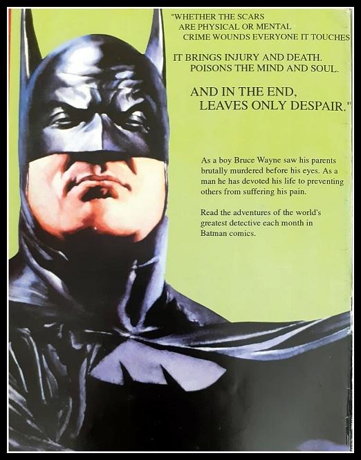 Gotham Comics  Issue #16 Wings - Batman - Message