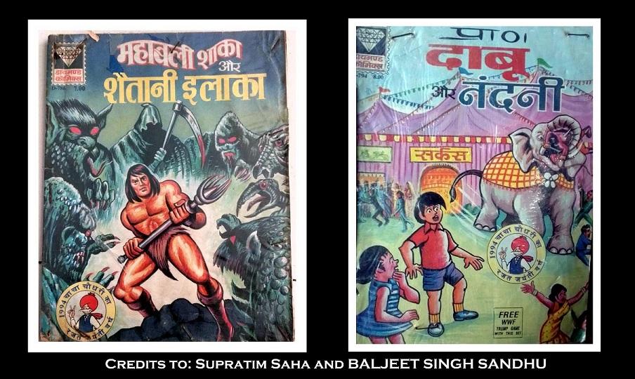 Mahabali Shaka Aur Shaitani Ilaka Dabu Aur Nandini Diamond Comics Chacha Choudhary Rajat Jayanti Varsh