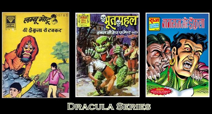 Dracula In Indian Comics