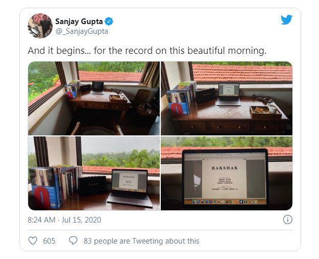 Sanjay Gupta On Tweeter - Rakshak A Hero Among Us