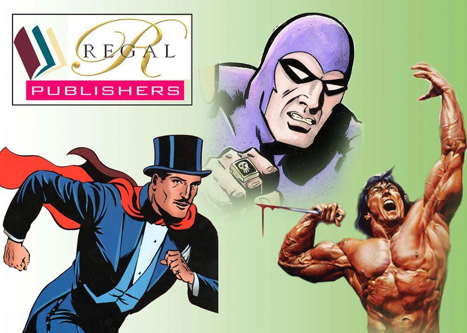 Regal Publishers - The Phantom, Tarzan, Mandrake