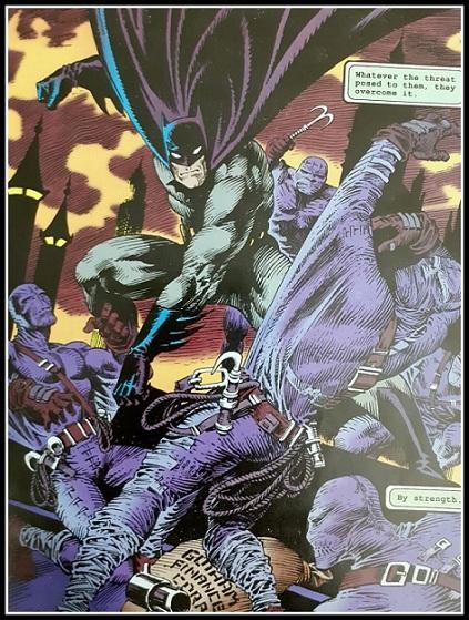 Gotham Comics  Issue #16 Wings - Batman - Ridge Runners  Action Sequence