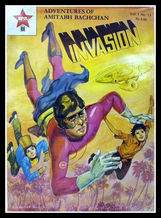 The Adventure Of Amitabh Bacchan - Suprimo - Star Comics