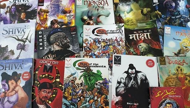 Hello Book Mine Vimanika Comics