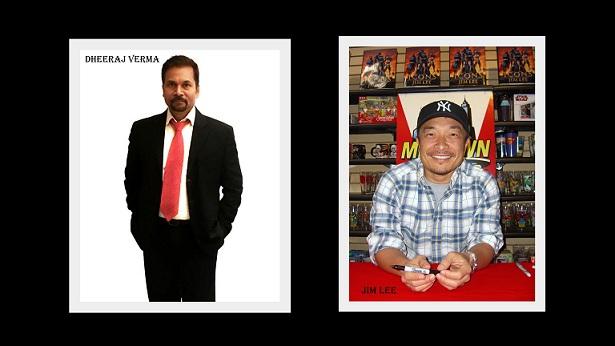 DC FanDome - Dheeraj Verma - Jim Lee
