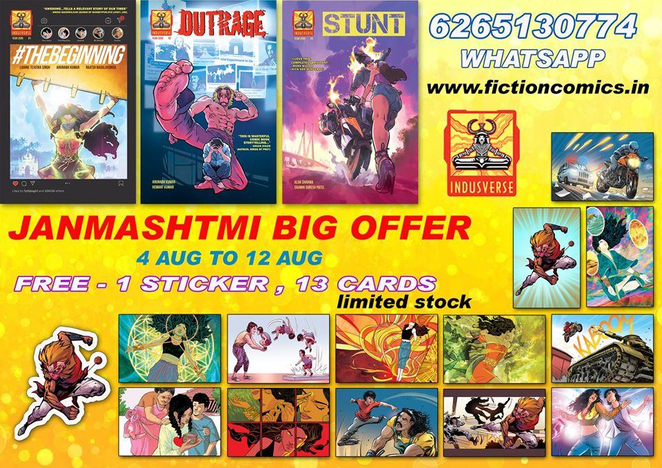 Indusverse Comics - Fiction Comics