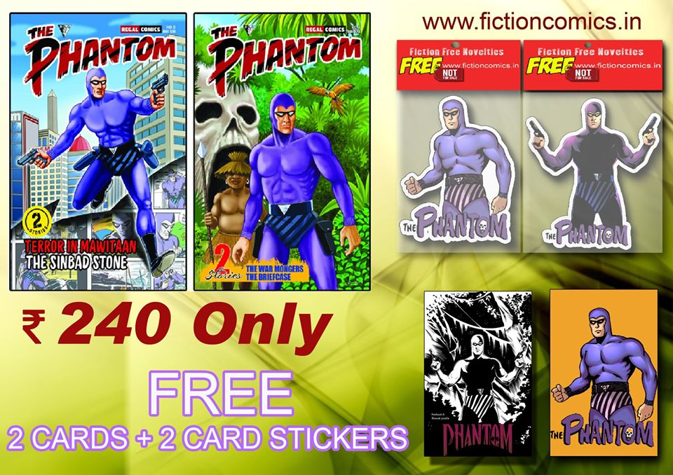 The Phantom - Regal Publishers - Fiction Comics
