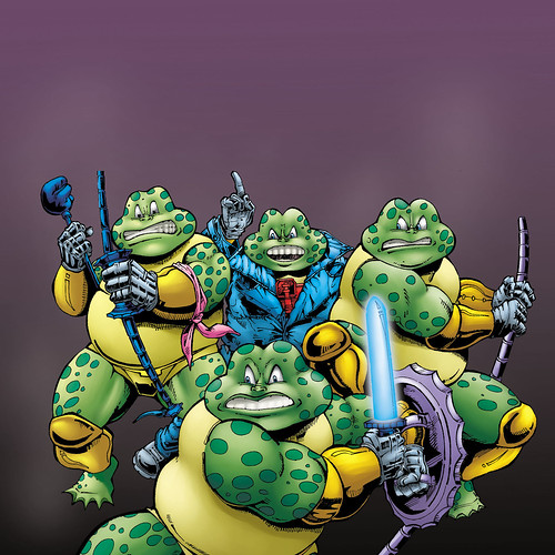 Fighter Toads - Raj Comics