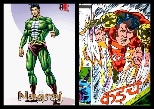 Nagraj Aur Jangaroo - Raj Comics And Fort Comics