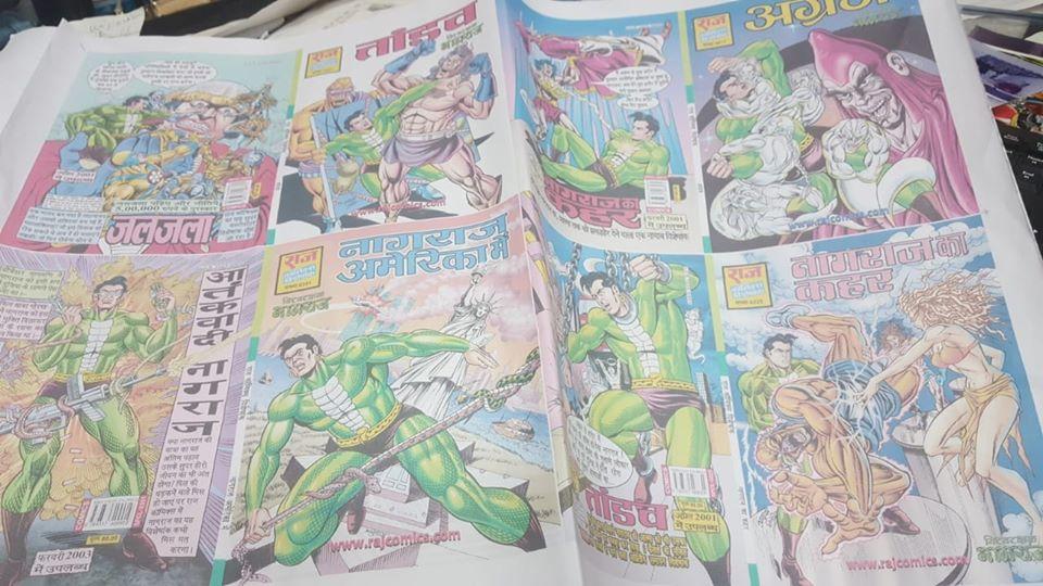 Agraj Series - Raj Comics