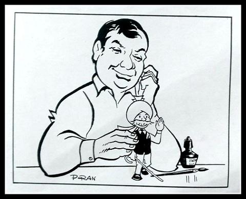 Cartoonist Pran - Chacha Choudhary