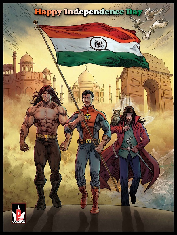 Prince Comics - Vansh, Zarino And Jalikattu