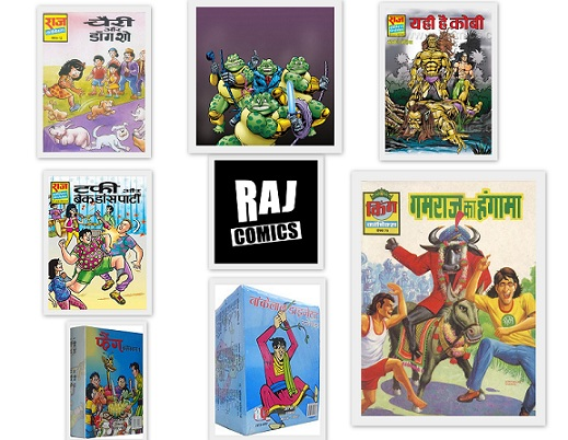 Funny Characters From Raj Comics