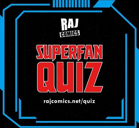 Raj Comics Superfan Quiz