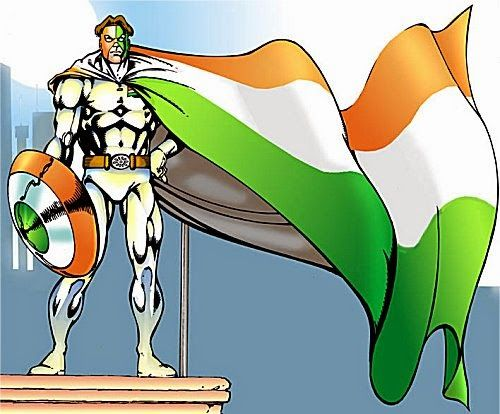 तिरंगा - राज कॉमिक्स
