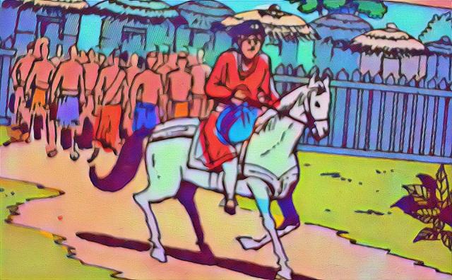 बांकेलाल और चेतक - राज कॉमिक्स
