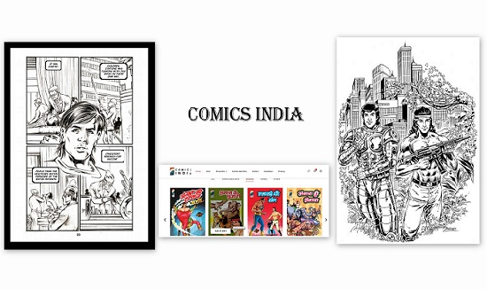 Comics India - Cover - News Bytes