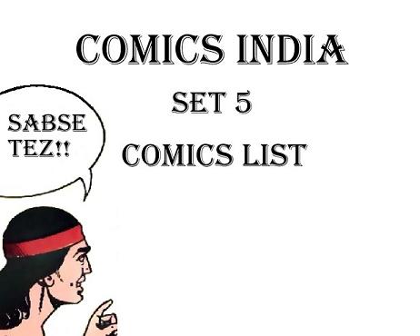 Comics India - Set 5
