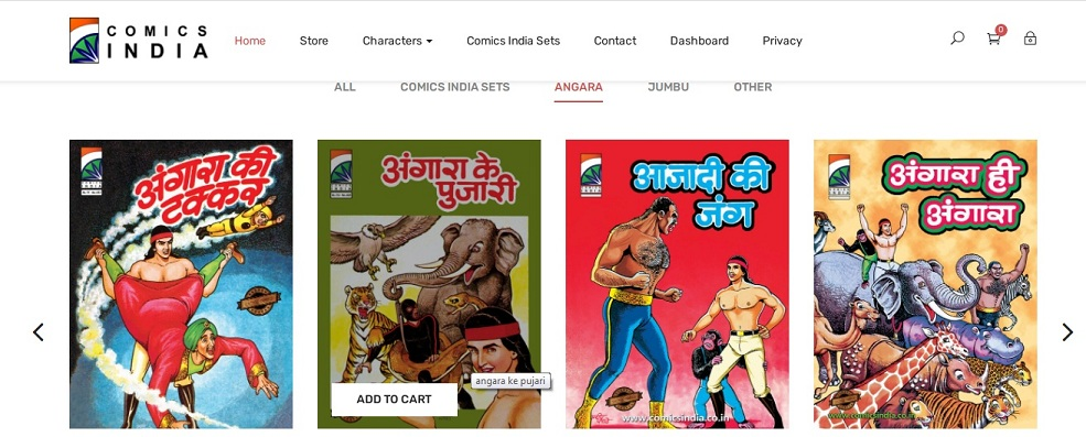 Comics India - Angara