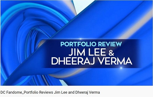 DC FanDome - Dheeraj Verma And Jim Lee