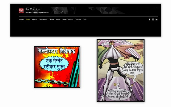Raj Comics Updates