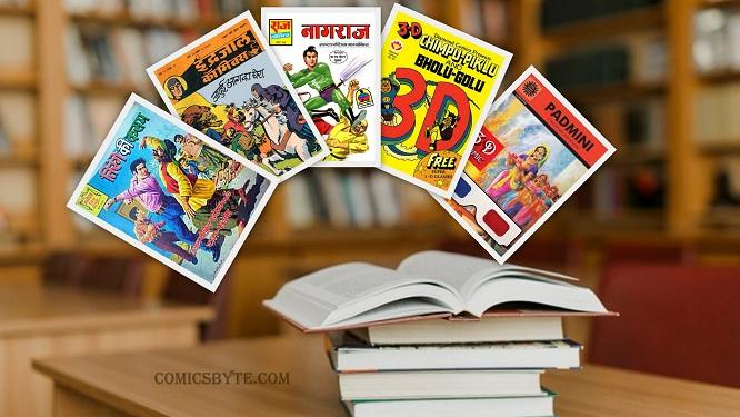 Wo Comics Ke Din - Cover
