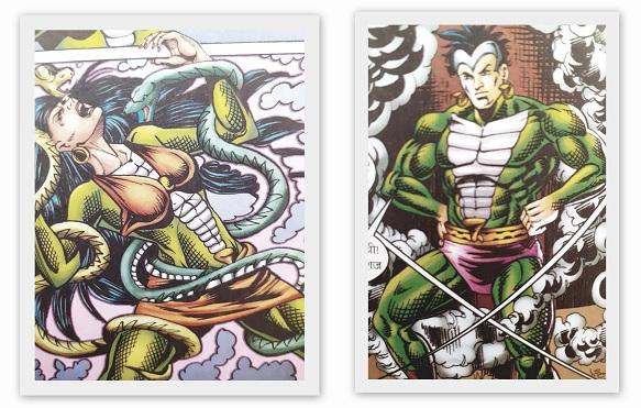 Chunauti - Nagraj Aur Nagrani - Raj Comics