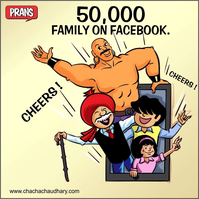 Pran's Chacha Chaudhary - Comics