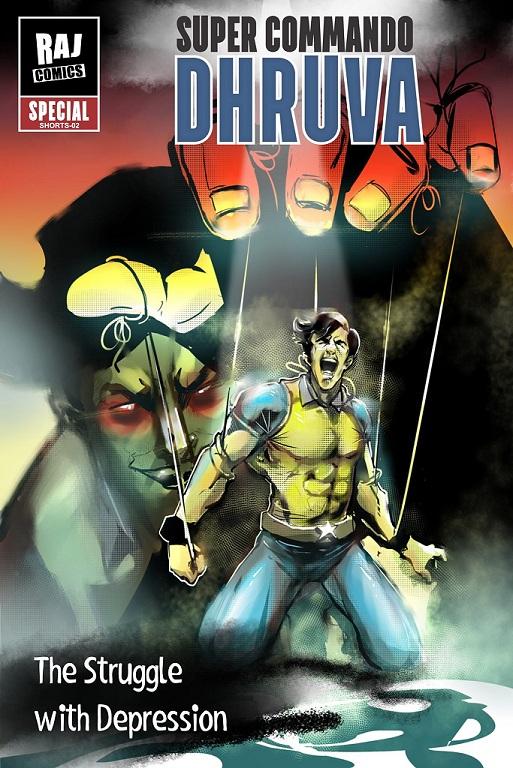 Raj Comics - Super Commando Dhruv - The Struggle With Depression