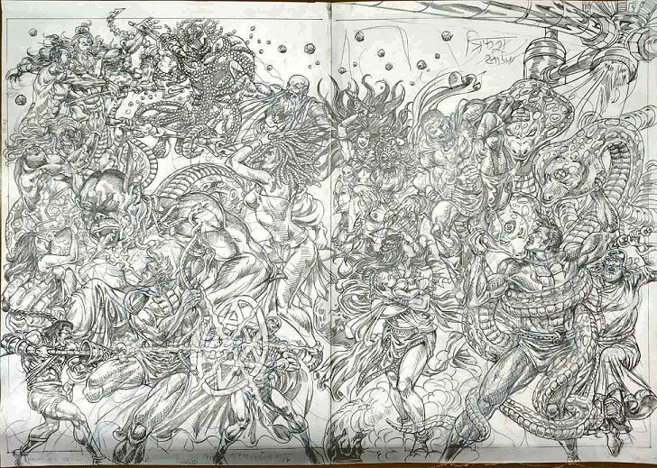 Trifna - Collectors Edition by Anupam Sinha - Raj Comics