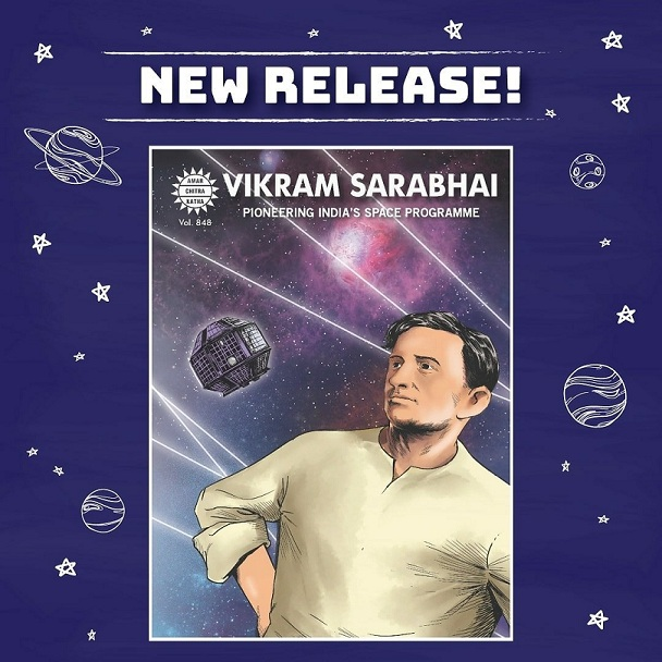 Doctor Vikram Sarabhai - ISRO - Amar Chitra Katha