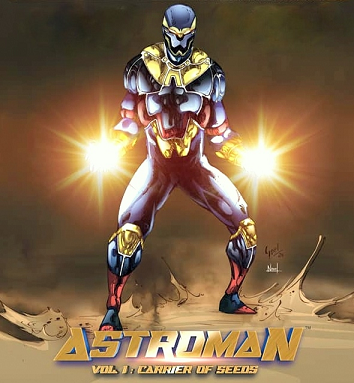 Astroman Vol 1 - Carrier Of Seeds - Cover Post
