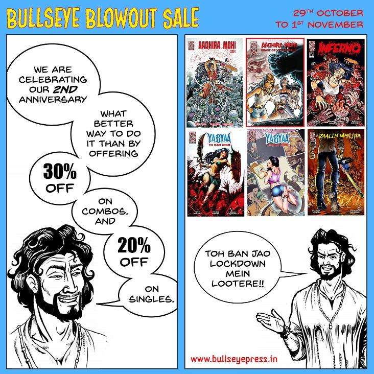 Bullseye Press - Blowout Sale