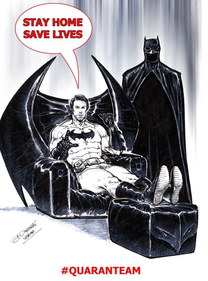Batman - DC Comics - Dheeraj Verma