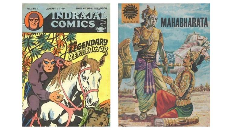 Indrajal Comics Aur Amar Chitra Katha