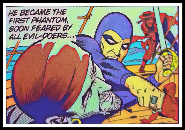 Inner Panel From Phantom Book (Comics) 1 - Regal Publishers