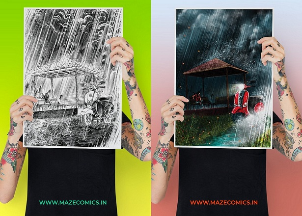 Maze Comics - Posters