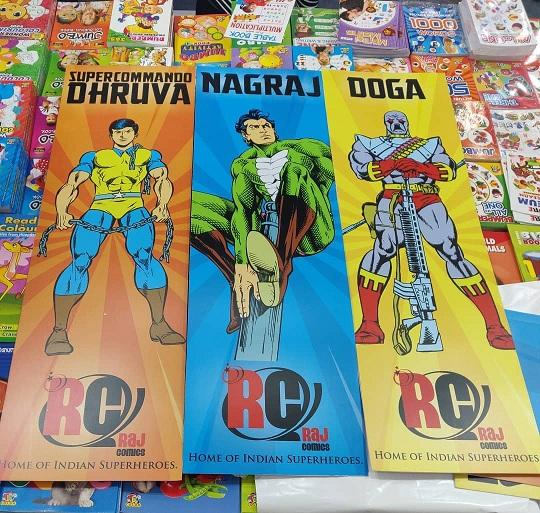 Super Commando Dhruva - Nagraj - Doga - Raj Comics