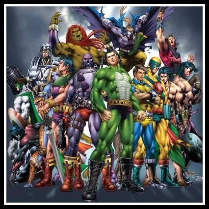 Raj Comics Universe - Superheroes