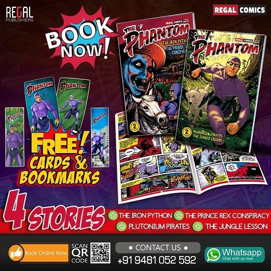 Regal Comics - The Phantom