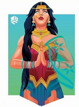 Wonder-Woman-Art-DC-FanDomइ-DB