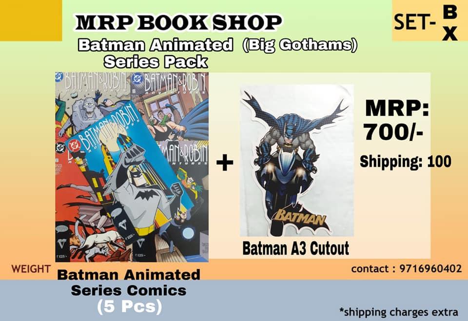 Batman Animated Series Pack - Big Size Gotham