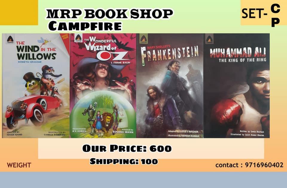 Campfire India - Graphic Novels