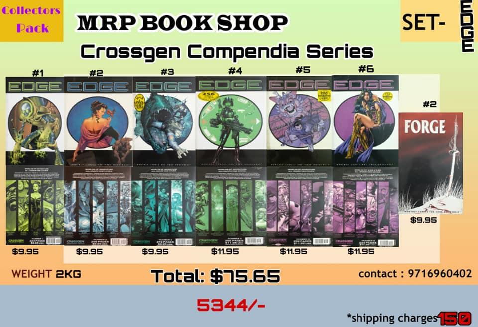Crossgen - Edge Comics Pack (7 TBPS)