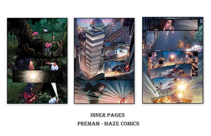 Maze Comics - Premam