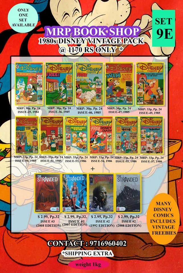 Vintage Disney Magazine Pack