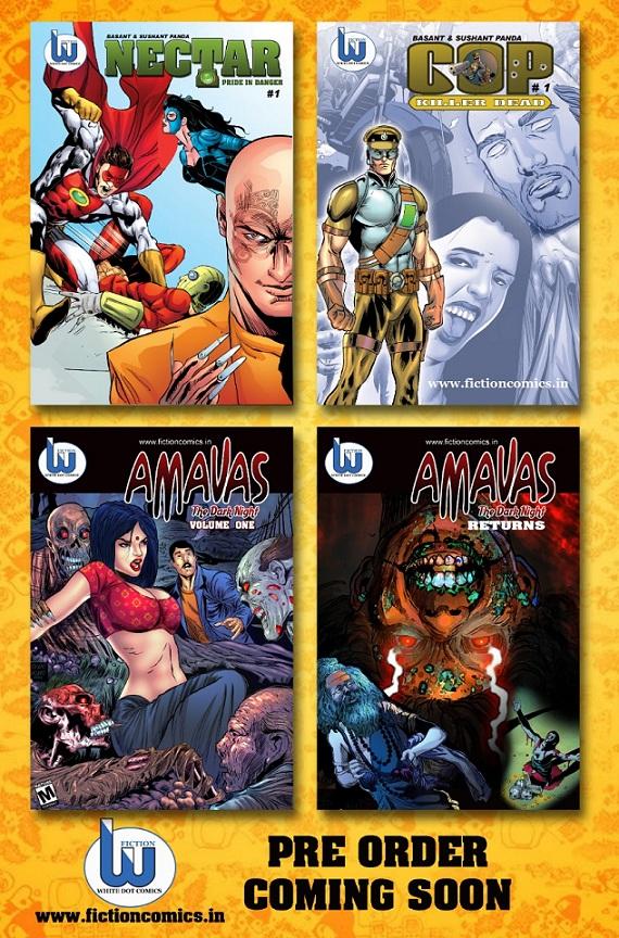 Fiction Comics - White Dot Comics - Bilasa Comics