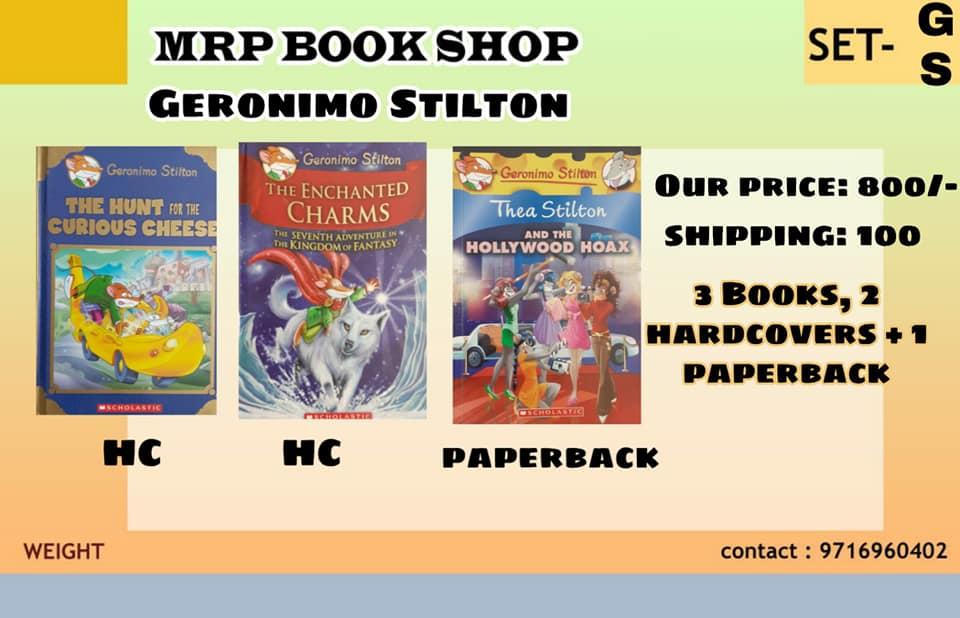 Geronimo Stilton Pack - Hardcovers