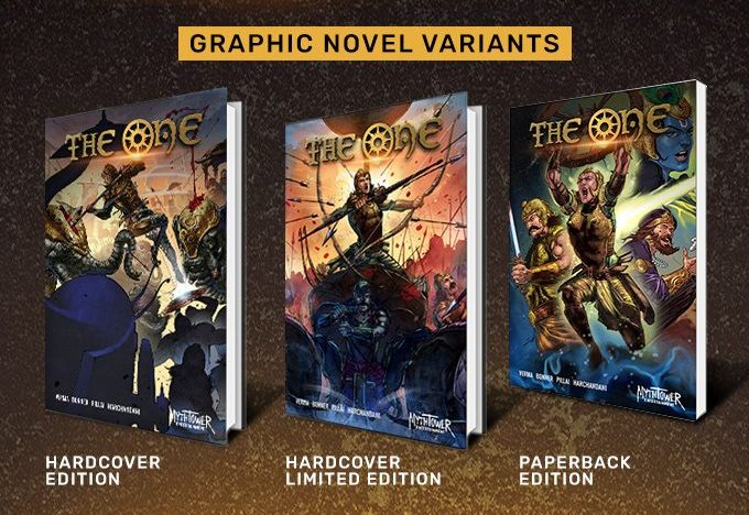 The One: Abhimanyu - MythTower Entertainment - Variant Covers