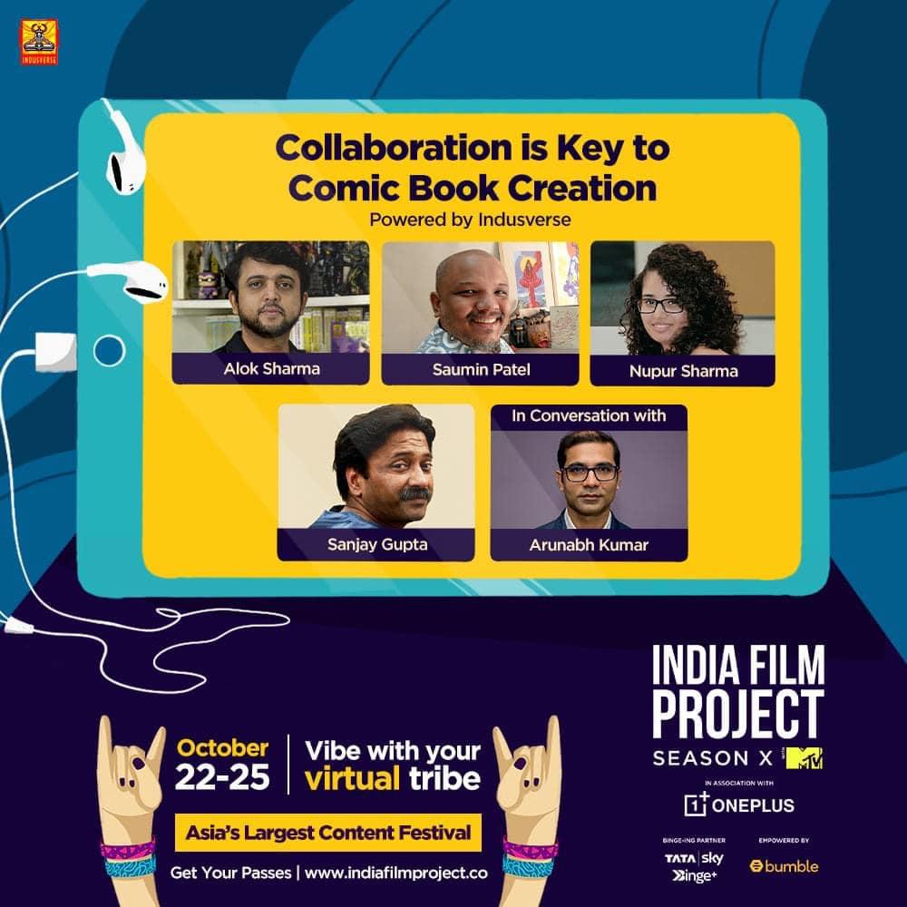 India Film Project - Sanjay Gupta - Team Indusverse